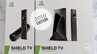 NVIDIA SHIELD TV / TV Pro 2019 Edition Unboxing & Impressions - Best Android TV Box Got Better