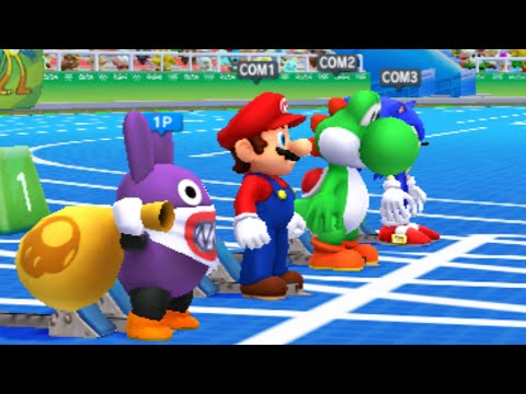 Mario and Sonic at the Rio 2016 Olympic Games - All Dream Events (3DS)