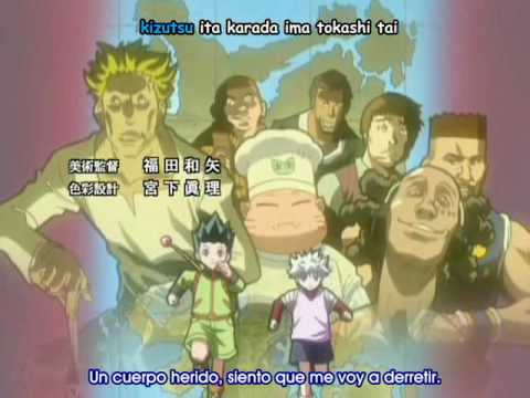 Hunter x Hunter opening 4 - Greed Island OVA