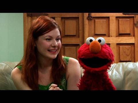 Interview with Elmo from Sesame Street