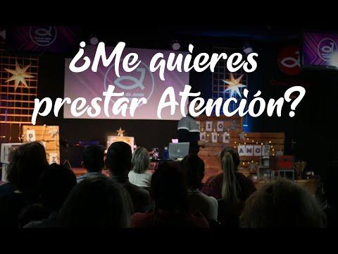 ¿Me quieres prestar ATENCIÓN? | Pr. Benigno Sañudo