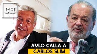 """AMLO pone en su lugar a Carlos Slim. """"Así funciona un verdadero aeropuerto"""" - Carlos Chavira"""