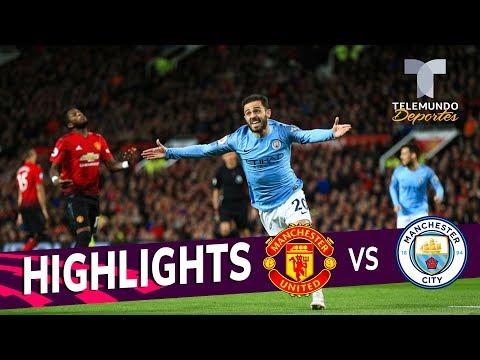 Manchester United vs. Manchester City: 0-2 Goals & Highlights   Premier League   Telemundo Deportes