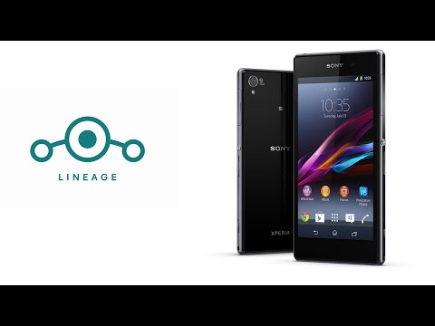 Sony Xperia Z1 Lineage OS 16 (Android 9 Pie)