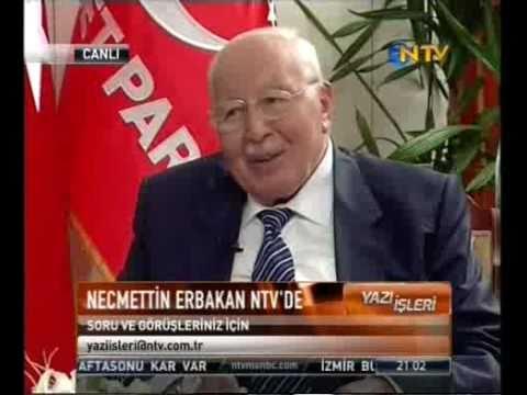 Necmettin Erbakan NTV'de (1)