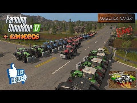 Farming Simulator 2017 Traktor power Live Stream Linelizz Games