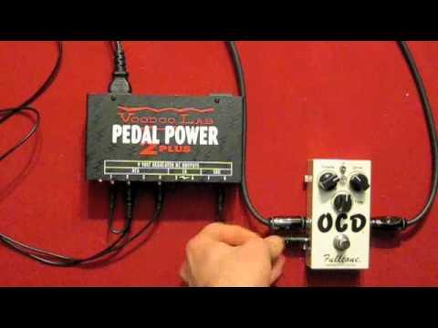 Fulltone OCD at Different Voltages