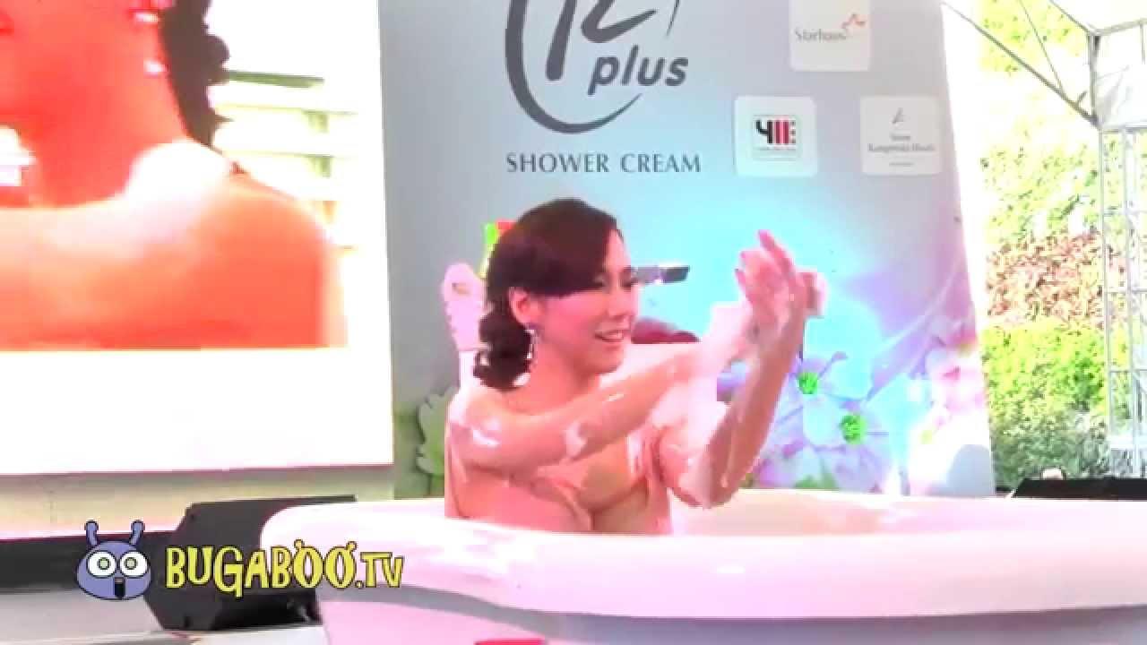 อั้ม พัชราภา อาบน้ำโชว์ sexy