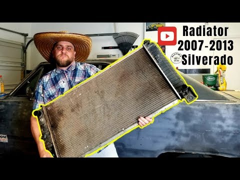 Radiator replacement for 2007-2013 silverado