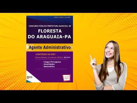 Apostila Concurso FLORESTA DO ARAGUAIA - PA 2020 - Vários Cargos