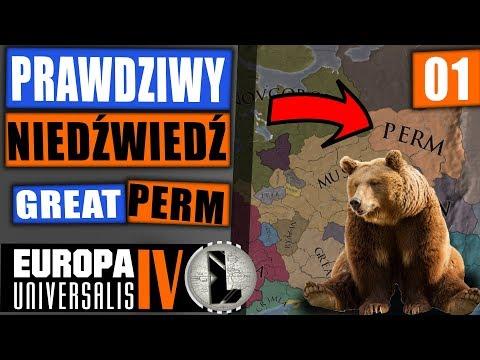 PL | Prawdziwy Niedźwiedź czyli gra jako PERM pod achie! EU4