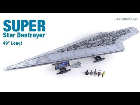 LEGO Star Wars Super Star Destroyer review! 4 feet long! set 10221