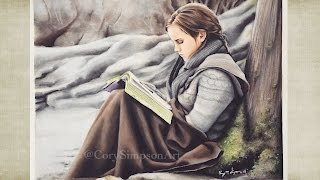 """Drawing Hermione Granger 