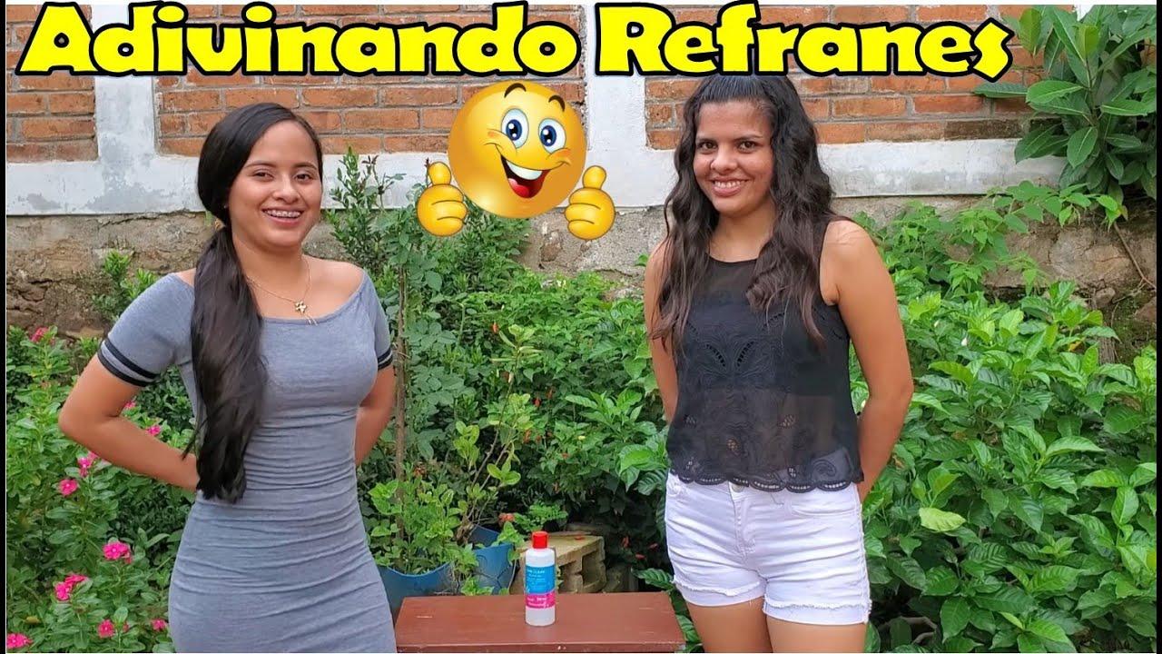 -Reto De Refranes Con Mi Prima🤗Adivina El Refrán-