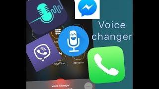 تغير الصوت اتناء المكالمة تعمل على كل انواع برامج الاتصال (iphone,ipad,ipod)