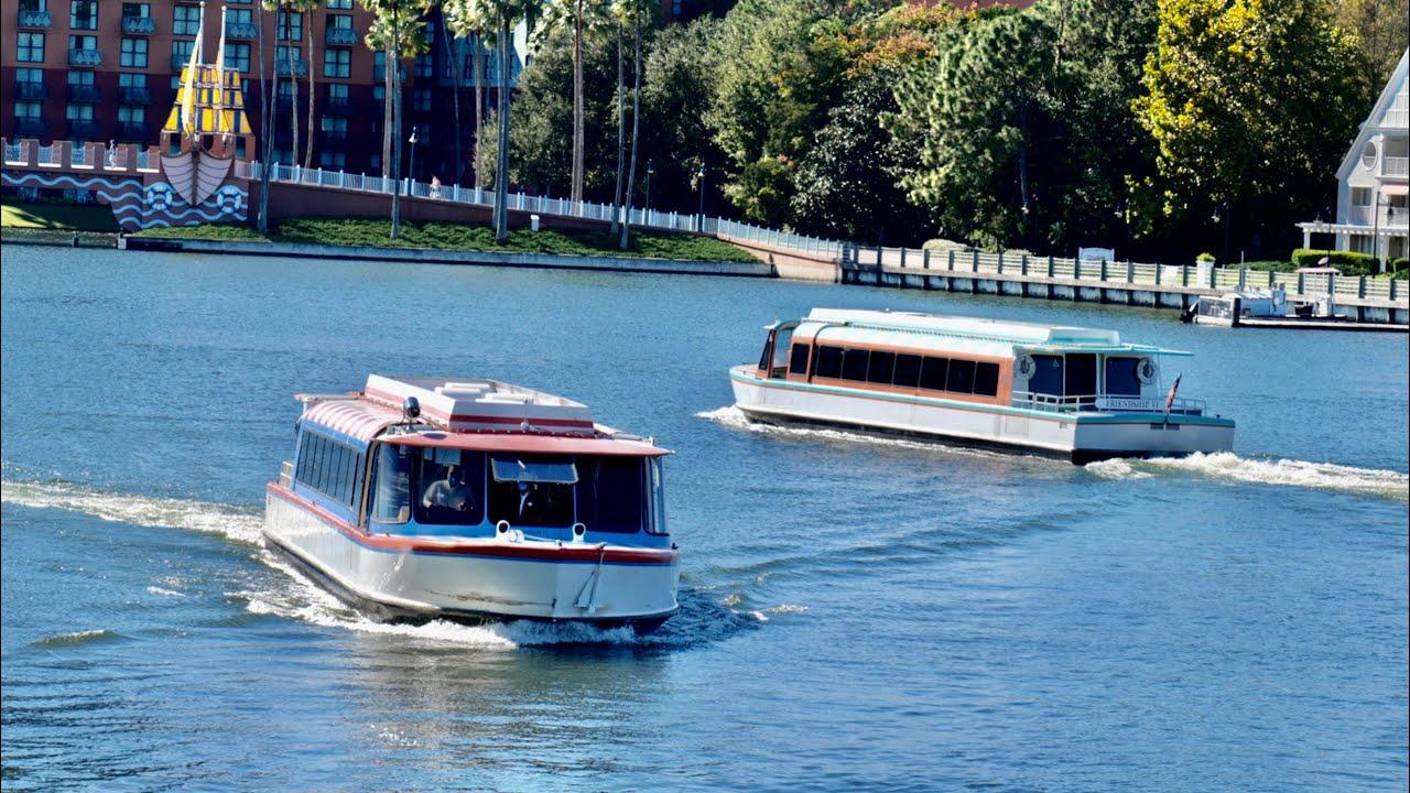 Walt Disney World Friendship Boat FULL RIDE To EPCOT From Hollywood Studios | Walt Disney World 2020
