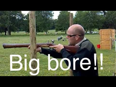 Shooting with a 4 and 2 bore shotgun muzzleloader Mr Poacher