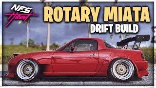 ROTARY SWAPPED MIATA DRIFT BUILD! | Need for Speed Heat