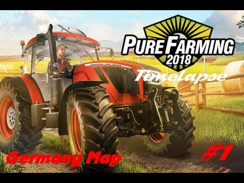 A complicated beginning l  Pure Farming 2018 l Timelapse #1 |