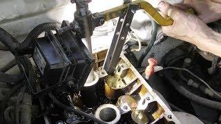 мотор ЗМЗ 405-406.  Рассухариватель клапанов
