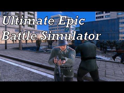 Ultimate Epic Battle Simulator [DE|HD] E9 - 8K Deutsche Soldaten vs. 35K Rennende Zombies