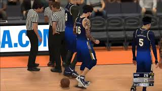 """PTP BEST TEAM ON XBOX vs Midnight Madness NBA 2k Comp Games  PLAYOFFS DON""""T LOSE"""