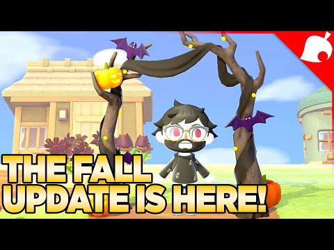 Unlockables & Items for Spooky Scary Time! Animal Crossing New Horizons 42 Fall Update