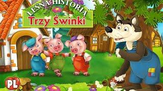 Let's Play • Bajka i Puzzle Trzy Świnki • dla dzieci po Polsku, Trzy małe świnki, Gry dla dzieci