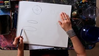 How to Draw a Circle & an Ellipse | Drawing Tutorials