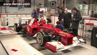 F1 2012 - Ferrari F2012 launch - Behind the scenes