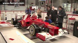 f1 2012 ferrari f2012 launch behind the scenes