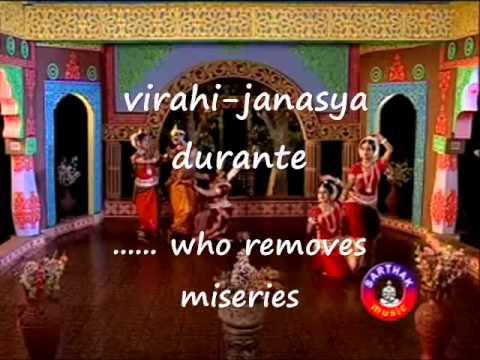 Gita Govindam - Ashtapadhi #3- Lalita-Lavanga lata -- Odissi Dance with English translation