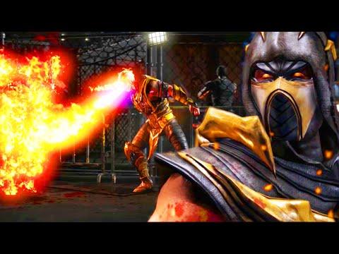 "I GOT THE SECRET SCORPION BRUTALITY - Mortal Kombat X ""Scorpion"" Gameplay (MKXL Online Ranked)"
