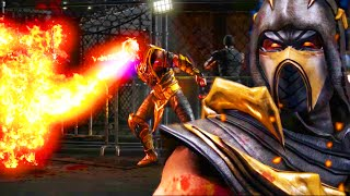 I GOT THE SECRET SCORPION BRUTALITY - Mortal Kombat X