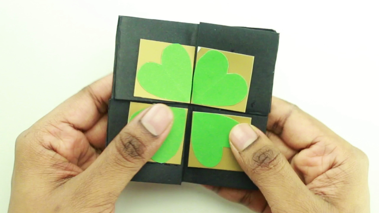 How To Make An Endless Card Without Glue Youtube