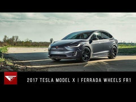 2017 Tesla Model X | The X Factor | Ferrada Wheels FR1
