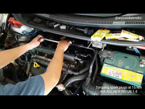 How to install and torque spark plugs at 15 Nm