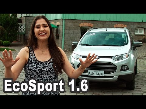 Novo Ford EcoSport 1.6 Powershift 2016