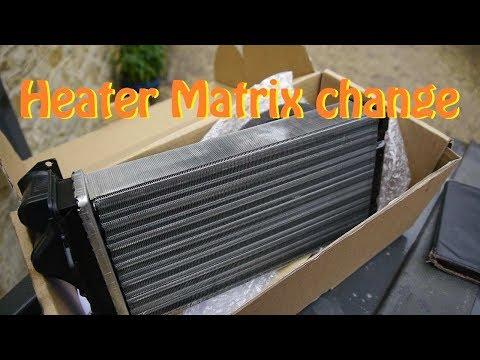 HOW TO: Heater Matrix Change   Peugeot 206