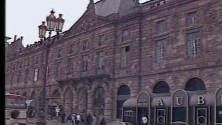 Strasbourg : maquette de l'Aubette Jean Arp