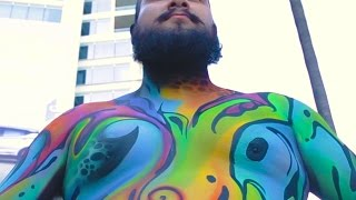 I Wore Body Paint Instead Of Clothes In The City
