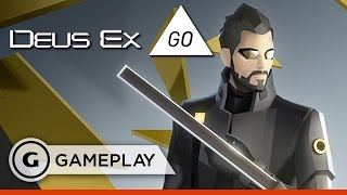 Deus Ex Go - First Missions Gameplay