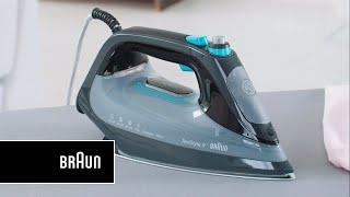 Braun TexStyle 9 Steam Iron – Braun's fastest steam iron | Introduction