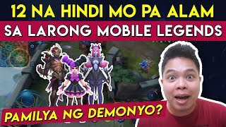 12 Hindi mo pa Alam sa Mobile Legends