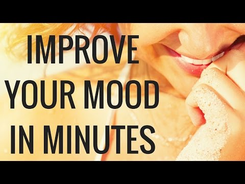 How to Snap out of a bad mood in 15 minutes or less - Christina Carlyle