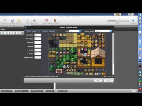 How to make a 2D video game on your mac or pc!