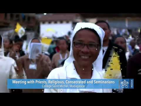 Meeting with Priests | Pope Francis |Madagascar