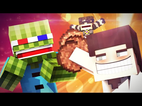 Minecraft Animated Short : THE STEAK MAN!