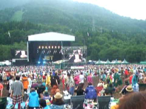 Fuji Rock 09 - Jet - Goodbye Hollywood (clip)