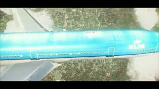 FS2004 - KLM MD-11 At Chicago O'hare Airport
